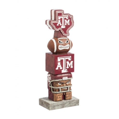 Texas A&M Aggie tiki totem