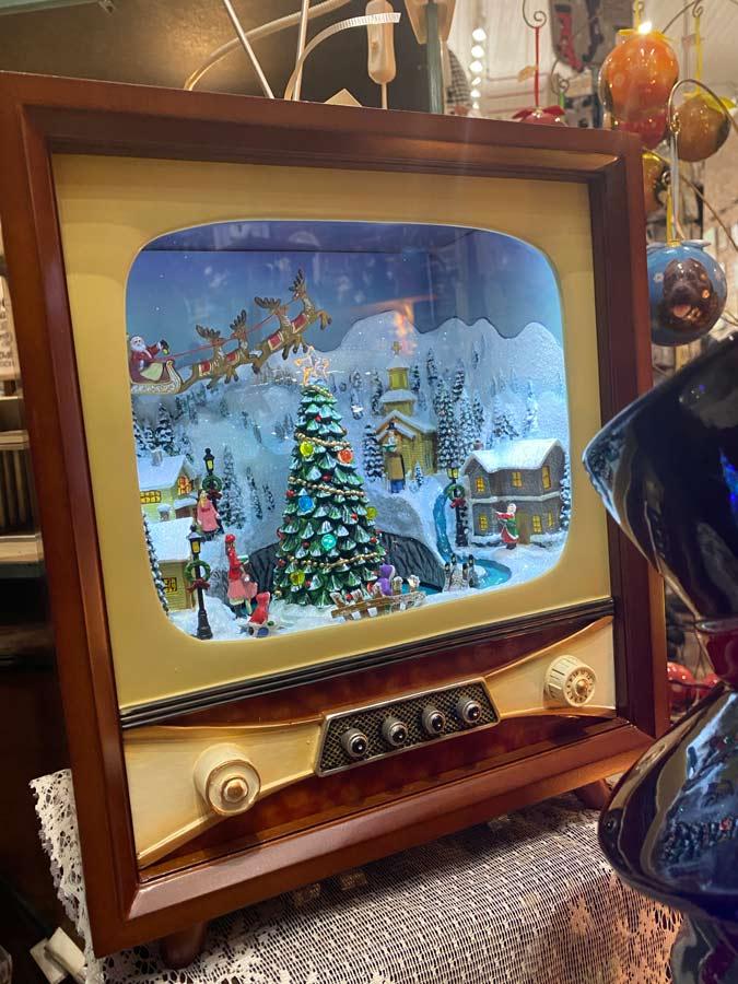 Christmas TV Decoration