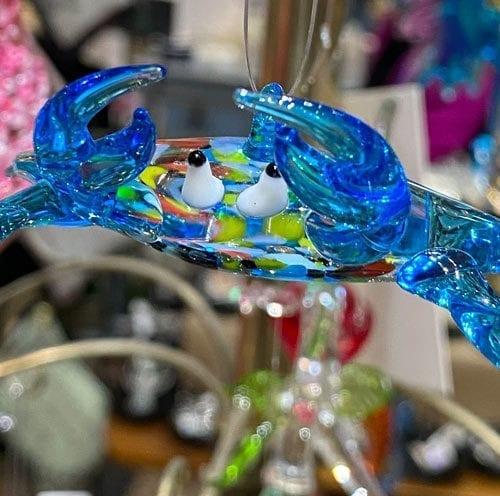 galveston blue crab ornament