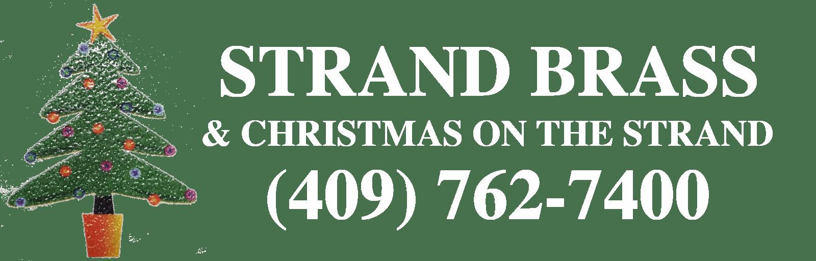 strand brass christmas store