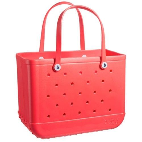 coral bogg bag