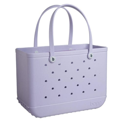 lilac bogg bag large