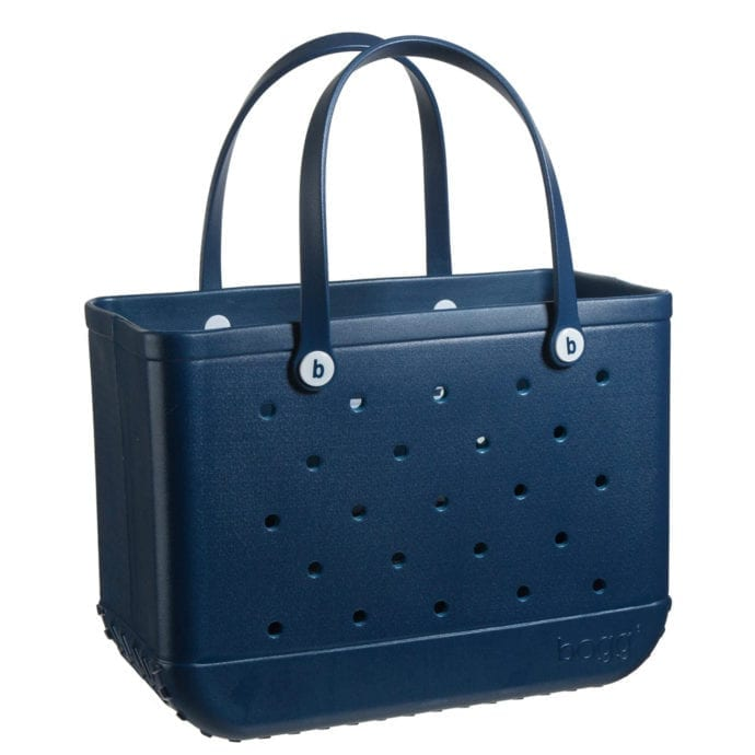 navy blue bogg bag large