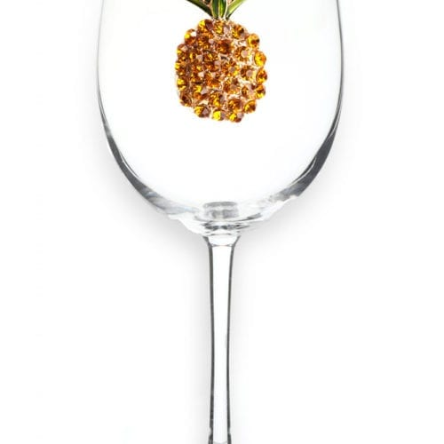pineapple wine glass