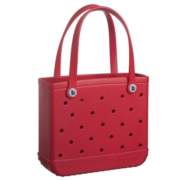 red baby bogg bag