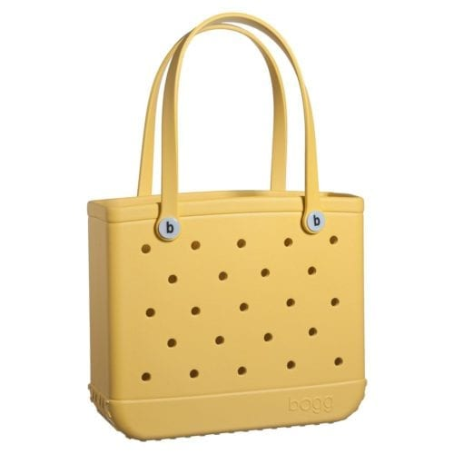 yellow bogg bag